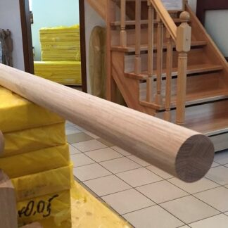 Перила дуб диаметр 50 мм