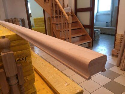 Перила из бука 50 х 70 мм (1 м.п.)