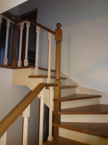 Лестница комбинированная.